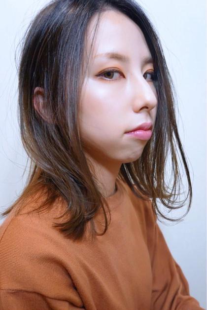 ミニモ春きゅん✂︎うる艶カラー&骨格矯正カット