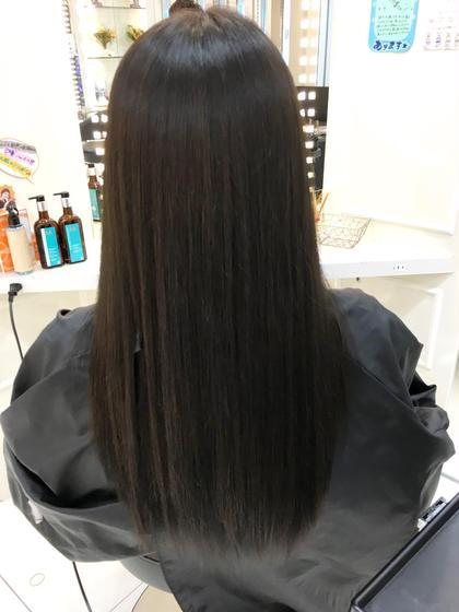 学校用のアッシュ黒染め bijou所属・カナマルノリキのスタイル