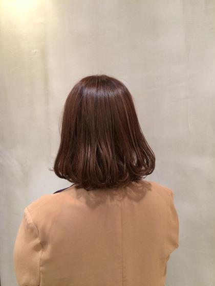 グラデーションカラー xxxyzAVEDA六本木店所属・加藤泰輔のスタイル
