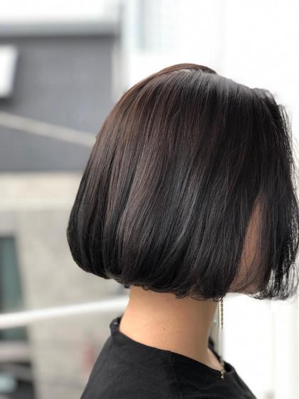 🤩艶髪🤩カット+イルミナorアディクシーカラー+トキオトリートメント