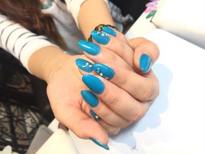 ブルーのワンカラーでシンプルに大人っぽく♡♡  Gloss所属・森晴美のフォト