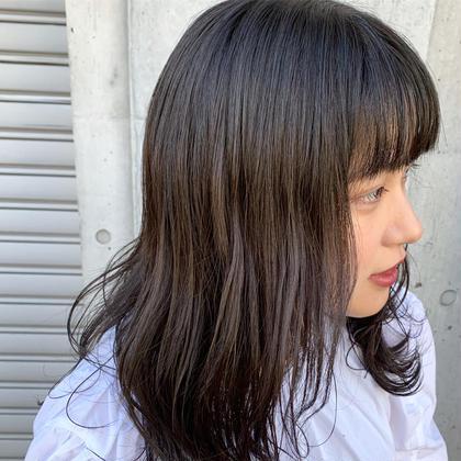 10月限定🔥ご新規様限定🎁前髪カット+ワンカラー+クイックトリートメントブリーチなし