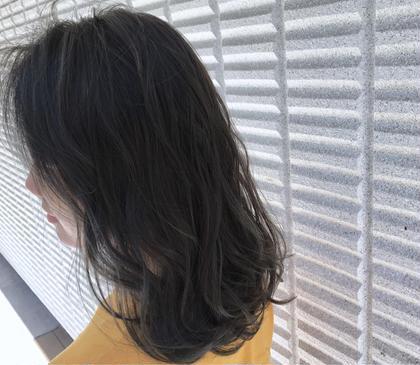 カラー  【 イルミナカラー × シアーグレージュ 】  透明感 たっぷり のイルミナカラーで柔らかさを ♪