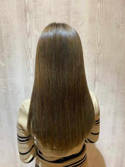 🌈4月限定🌈カラー&髪質改善トリートメント