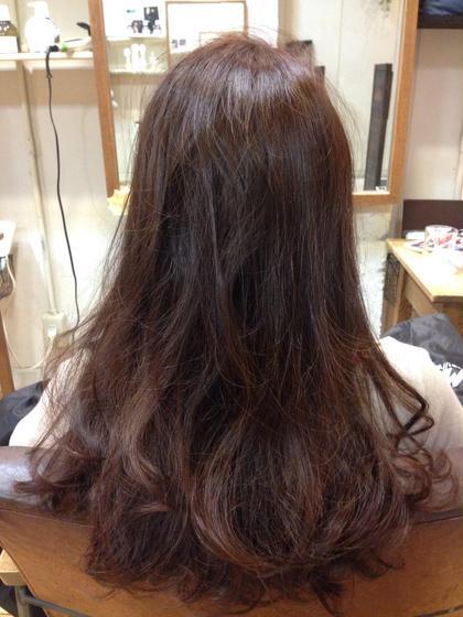秋のカッパーブラウン 1makecolor¥2000 MASHU北堀江所属・石田梨衣菜のスタイル