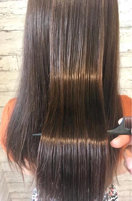 仕上がりに差が出る💓髪質改善ダメージレスサイエンスアクアinイルミナorアディクシーカラー➕モテ髪カット➕ナノスチーム