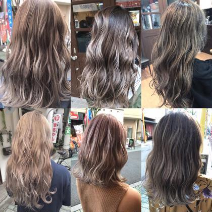 スペシャルハイライト&カラー【髪質改善ケア】付き❤️