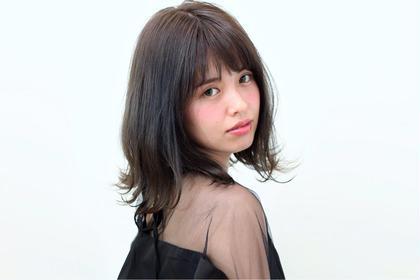 撮影モデル コーチのいるコーチングができる美容室  ランドスケープ 福岡本店所属・中幸司のスタイル