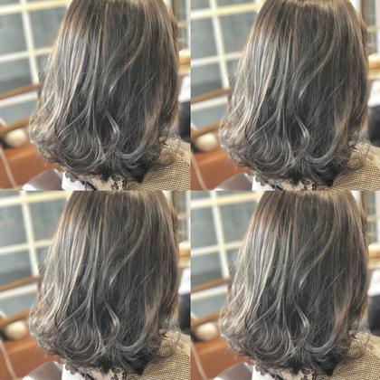 木村直貴のミディアムのヘアスタイル