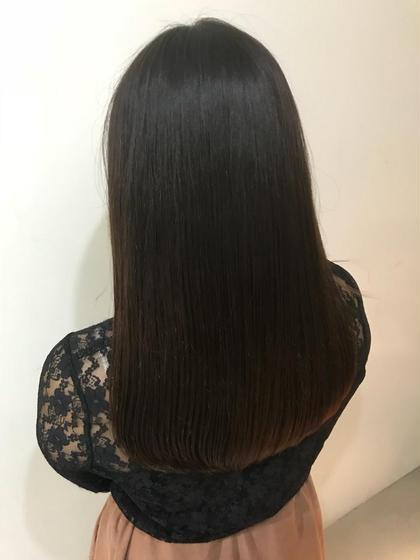 髪の広がり、うねりが気になる方是非お声かけ下さい! 上田圭太のロングのヘアスタイル