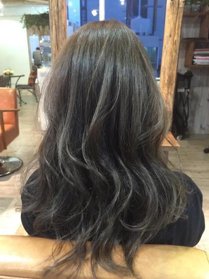 イルミナカラーでハイライトを入れてオシャレに La fith hair   sept所属・DAISUKE。のスタイル