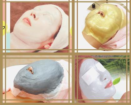 【39%OFF❗】フェイシャル・エイジレス◆ヒト幹細胞培養美容液&選べる♪4種類パック[小顔・石こう・ゴールド・クレイ]