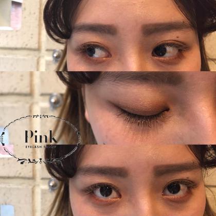 〇 light brown × gold × khaki brown       Cカール 10-11mm cutedesign pink 梅田所属・Pink梅田店きただのフォト