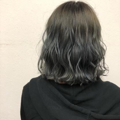 外ハネでも内にも入る切りっぱなしボブです! hair's beau aRc所属・井上奈々美のスタイル