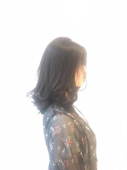 レイヤースタイルで ロングで動きを♡  巻かずにしても 柔らかいうごきになります♡✂️ SARA21Beautysight所属・幸美里のスタイル