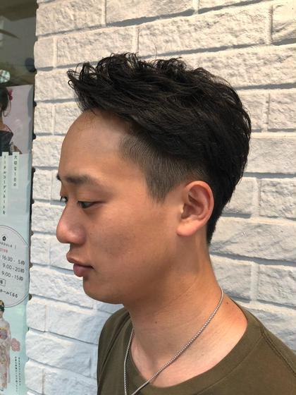 🌟 メンズカット+パーマ(頭皮ケア付)