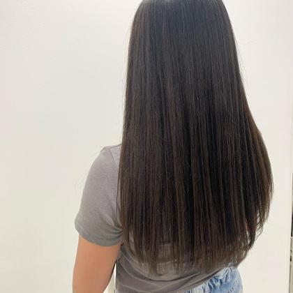 ❤️まとまる艶髪❤️やわらか縮毛矯正&トレンドカラー&似合わせカット✨