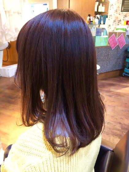 【🌷ピンク系にしたい人限定🌷】ピンク髪カラーコース ※ブリーチなし