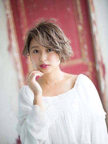 【女性限定】デザインカット(ブロー込)¥2190