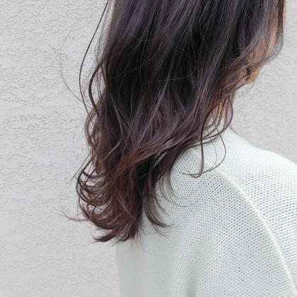 💜小顔カット+トレンドカラー+色持ちトリートメント+プチスパ
