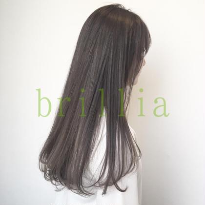 ♡前髪カット+アディクシーカラー