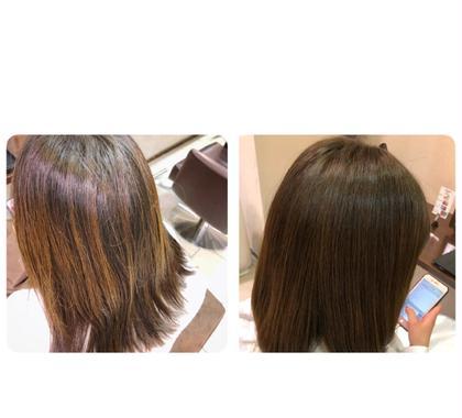 ✨透明感のあるブラウン系アッシュカラー✨髪もカットで整えてツヤツヤ抜群🗽✨ regalo所属・萩原直哉のスタイル