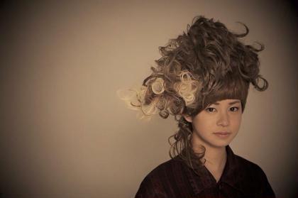 Of hair所属・谷田部流青のスタイル