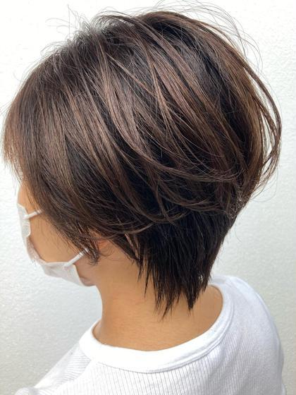 ✨鉄板メニュー✨❣️似合わせデザインカット+うる艶カラー+高保湿トリートメント❣️
