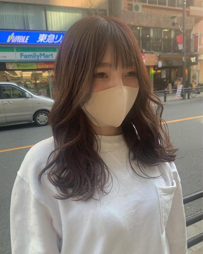 💕💕【女性限定】✨似合わせカット+艶感カラー💖