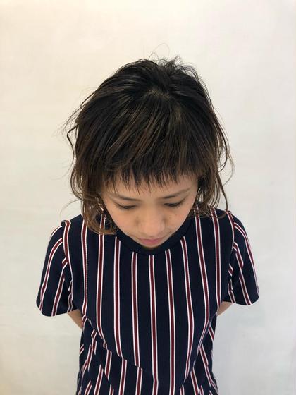 ⭐️前髪カット&前髪矯正⭐️