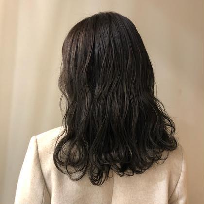 前髪カット無料+オーガニックカラー+トリートメント