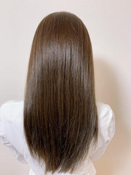 女性限定 カット+縮毛矯正【前髪縮毛】