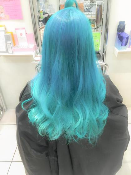 ターコイズカラー HairSalon F所属・菊池悠介のスタイル