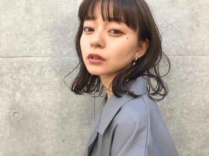 カット & 前髪パーマ(hoyuケアリッチトリートメント付き)