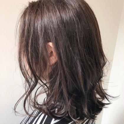 艶カラー💗(髪を暗くしたい方)+トリートメント💗