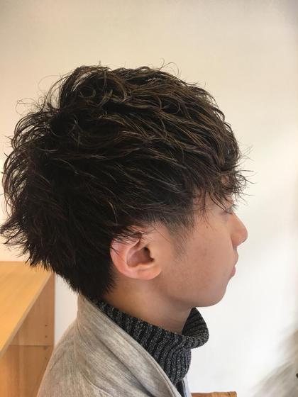 #メンズ ショートマッシュ 仲光啓輔のメンズヘアスタイル・髪型