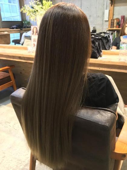 🌈【髪質でお悩みの方❣️】カット+髪質改善コスメストレート🌟
