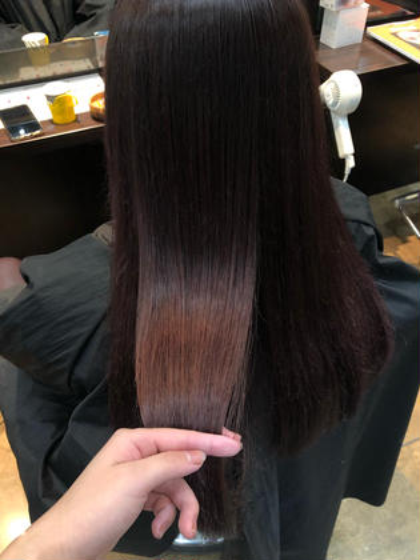 🌼【大人気予約殺到中!!】髪質改善トリートメント × ワンカラー