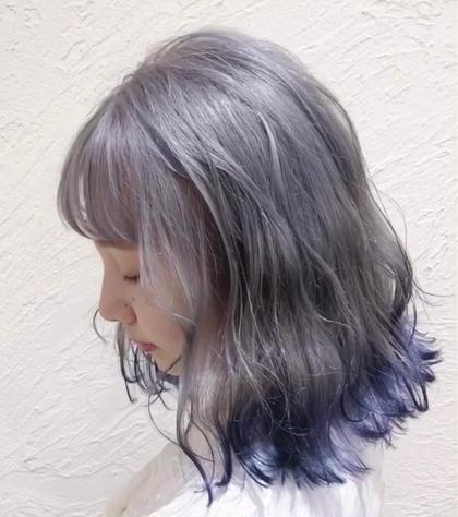 〻 ご新規様限定 〻 艶髪炭酸ヘアカラー + トレンドカット 💗