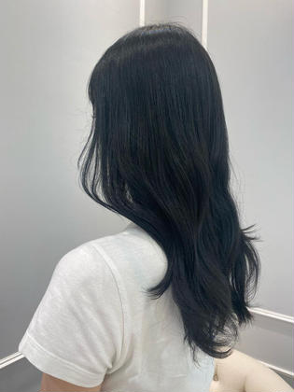 【🧸本格トリートメント付🧸】透明感カラー+Aujua 4step トリートメント ★白髪染めも◎