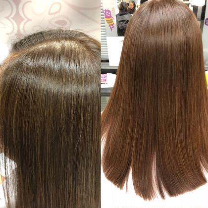 【カラープラス髪質改善】カット & ヘアカラー & 髪質改善