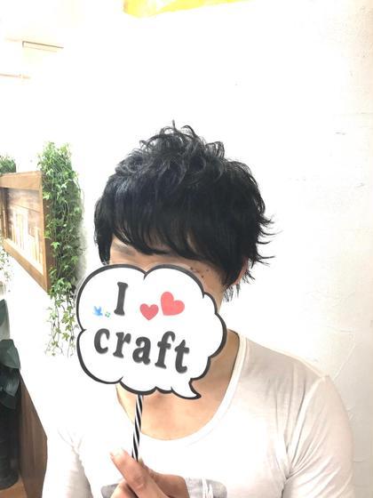 外ハネウィービングパーマスタイル♪【フロント】 澤田拓己のメンズヘアスタイル・髪型