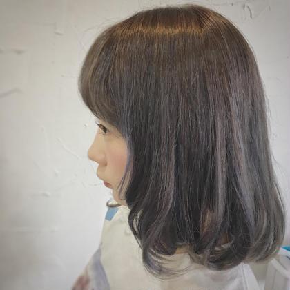 縮毛矯正(カットなし)¥7000