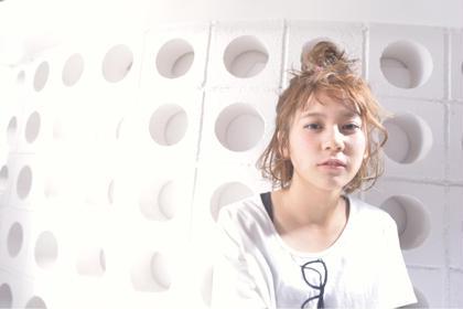 お団子アレンジ buzz-Hair make所属・buzz-Hair makeのスタイル