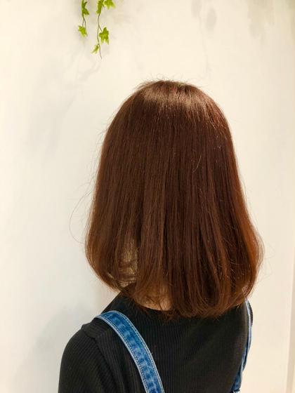 クセ毛対策🌈カット+潤いハホニコ縮毛矯正+ハホニコ1ステップトリートメント🌈