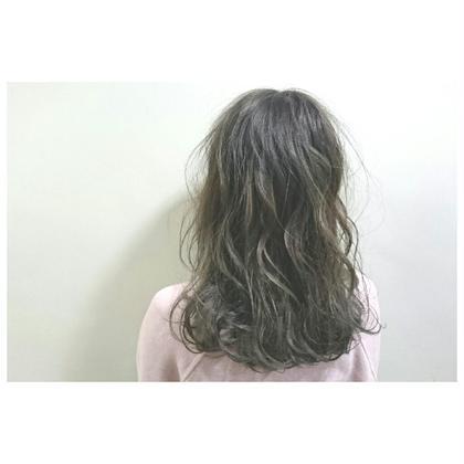柔らかTHROWアッシュ☆ hair salon lico所属・ナリタスミキのスタイル