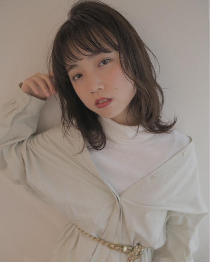 似合わせカット & ホリスティックカラー & 潤艶トリートメント