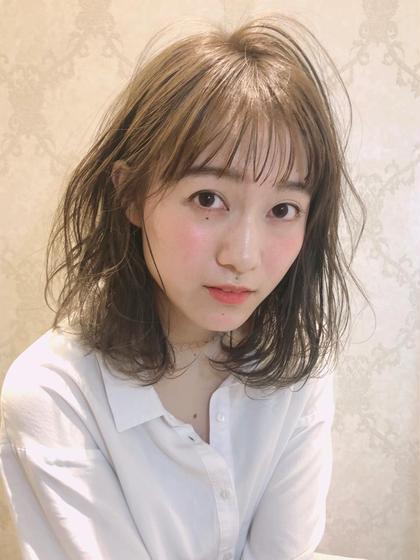 🌈1番人気🌈似合わせカット✂️+トレンドカラー+クイックトリートメント♡