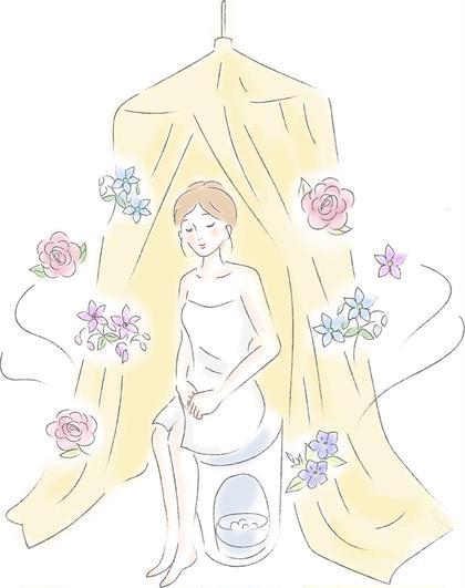 人気No.4  【花(ハーブ)の香りに包まれて蒸されたい方へ】