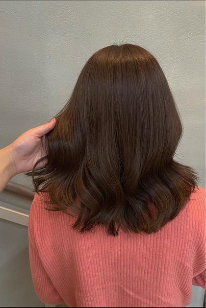 《最小限ダメージケア》事前ダメージケア付き!イルミナカラー+内部補修ケア+選べる髪質改善シャンプー